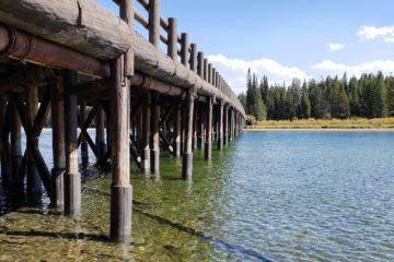 HISTORIC YELLOWSTONE FISHING BRIDGE PROTECTED WITH SEASHIELD SERIES 500 SYSTEM