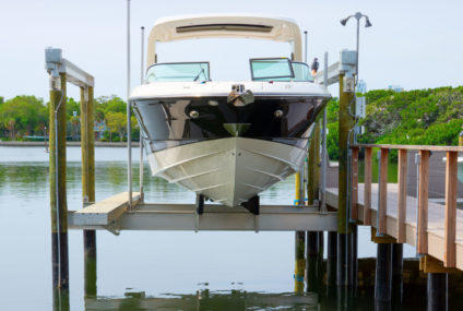 ROUTINE MAINTENANCE OF BOAT LIFTS