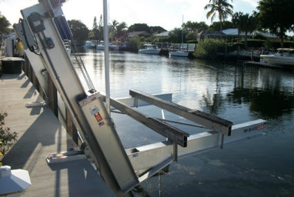 HOW DO YOU LUBRICATE A BOAT LIFT?