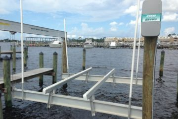 """WHAT TO DO IF MY BOAT LIFT """"DRIFTS"""" DOWNWARD OR TO ONE SIDE?"""