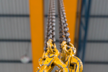 """ALLOY STEEL"" CHAIN SLING SAFETY"
