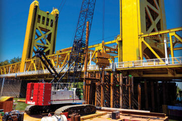 Sacramento Tower Bridge Fender System Replaced with 238 HSL
