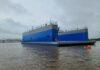 Dry Dock, Designed by JMS, Launched at Conrad Shipyard