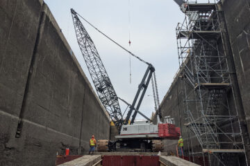 D.A. Collins Completes Erie Canal Work with 248 HYLAB and ATC-3275