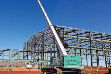 TUTT-BRYANT BUILDS MINING INFRASTRUCTURE WITH TCC-1400 IN WESTERN AUSTRALIA